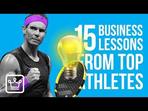 15 Lessons Entrepreneurs Can Learn From Top Athletes