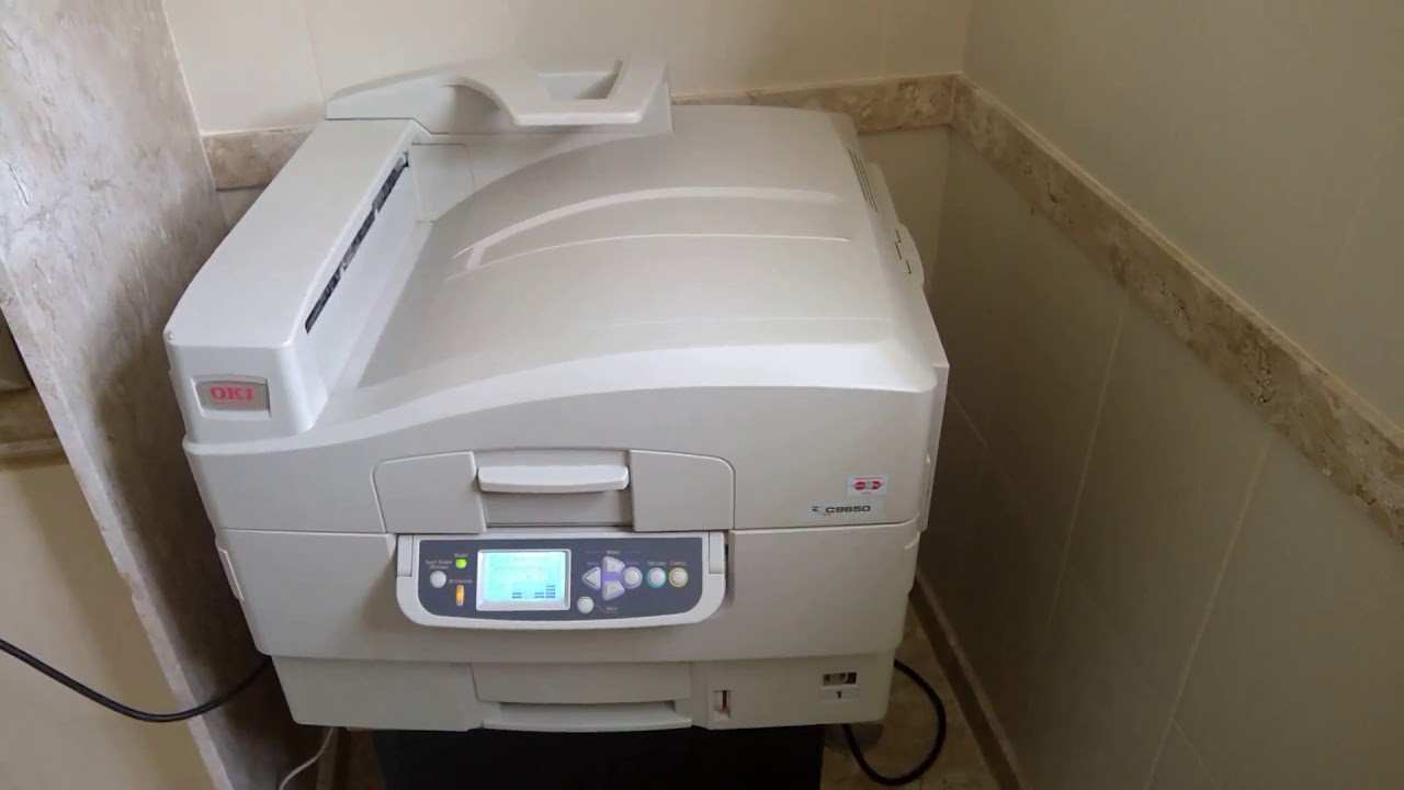 OKI C9650 PRINTER WINDOWS 7 DRIVER DOWNLOAD
