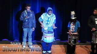 Snare Drum Battle - 2018 High Noon Showdown Drumline Competition
