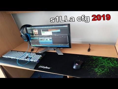 s1LLa CFG 2019 🔥  - All settings,PC spec,Gaming equipment CS 1.6/CS:GO
