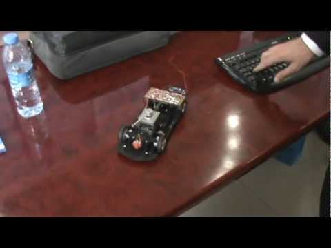 Bilgisayar kontrollü rf araç