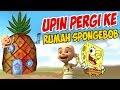 Upin Ipin Pergi Ke Rumah Spongebob Ipin Senang Gta Lucu  Mp3 - Mp4 Download