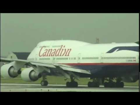 All 3 Colorschemes Of CANADIAN AIRLINES At Toronto (2000)