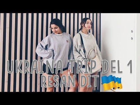 TRAVEL VLOG: UKRAINE TRIP PART 1: The flight/ RESAN DIT!