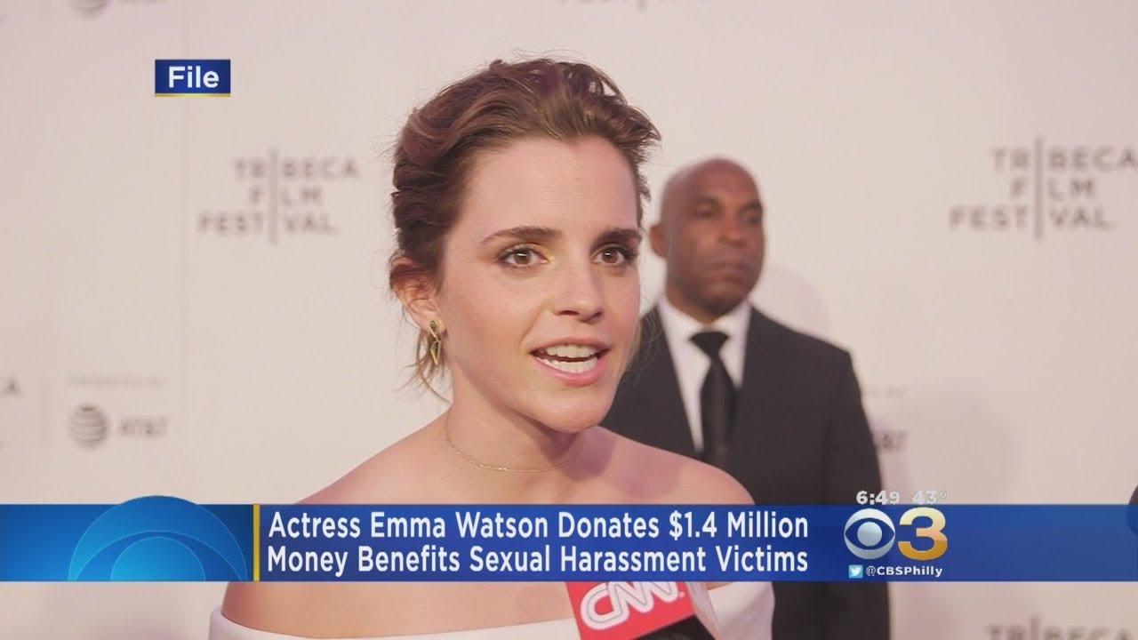 Emma Watson Donates $1.4 Million To Benefit Sexual Harassment Victims