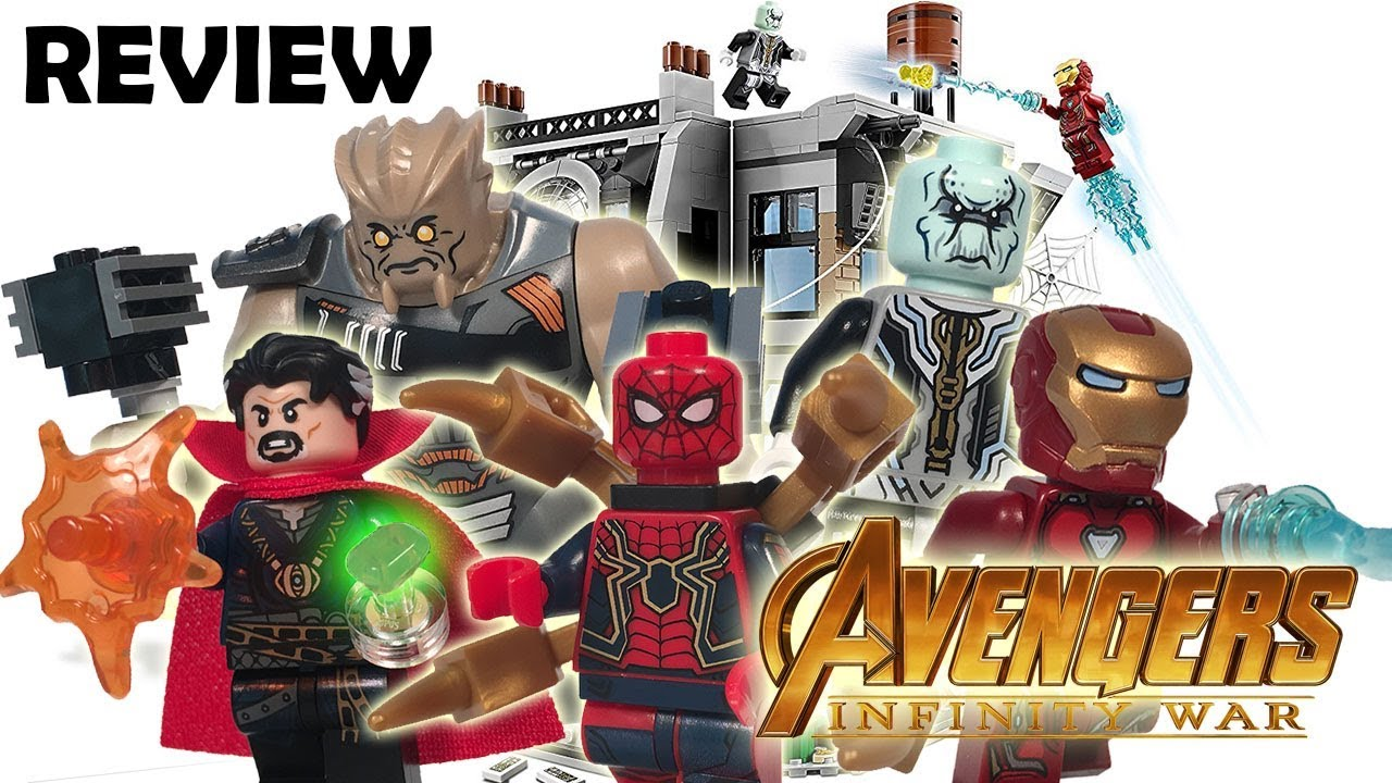 LEGO Avengers Infinity War Set 76108 Sanctum Sanctorum ...