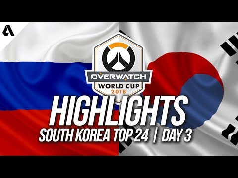 Russia Vs South Korea | Overwatch World Cup 2018 Incheon Qualifier Day 3 thumbnail