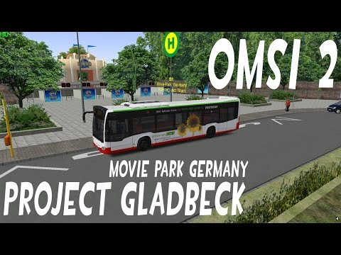 OMSI 2: Project Gladbeck: Gladbeck - Movie Park Germany (NL)