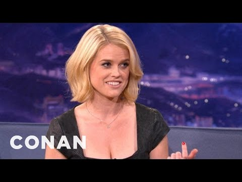 Alice Eve Explains Differences Between American & UK Dating - CONAN on TBS