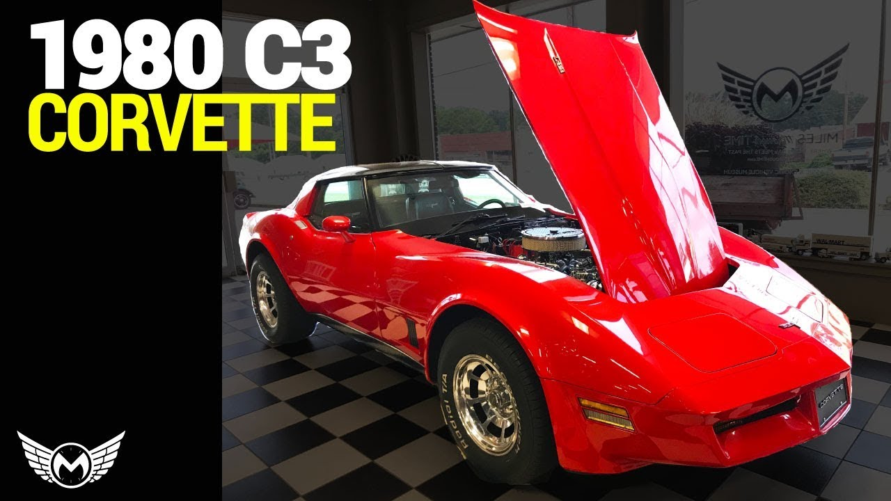 The Nicest 1980 C3 Corvette on Display - Miles Through Time