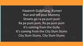 City slums lyrics || rajakumari|divine