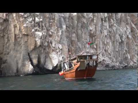 Khasab, Oman - Dhow cruise though the Omani fjords HD (2013)