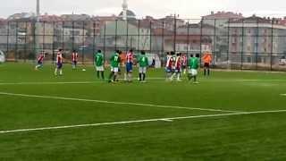 01.12.2013 Site spor 5-1 Saray Belediye Spor Olcay