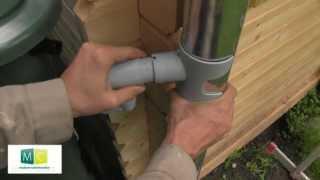 Pose cuve récupération eau de pluie