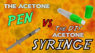TIP #002 for 3d printing: the acetone pen (and a DIY alternative!)