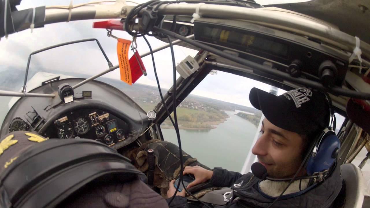 Полеты и управление самолетом LetsFly5.ru: Взлет и инструктаж