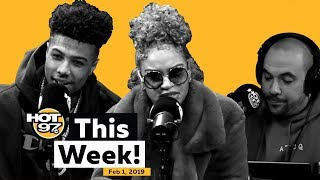 Actor Jussie Smollett Attacked + Blueface + T-Pain + Melii on HOT 97 This Week!