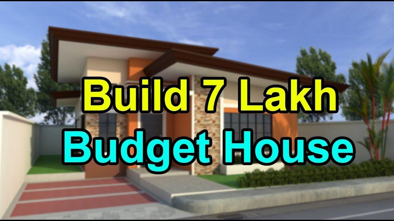 Beautiful 7 Lakh Budget House Plan Spacious Low Budget House Plan Youtube West facing house plan according to vastu. beautiful 7 lakh budget house plan spacious low budget house plan