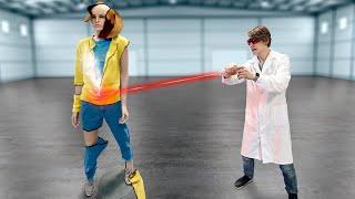 Разрежется ли одежда лазером на манекене?