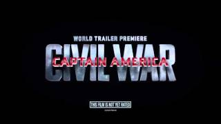 CAPTAIN AMERICA Civil War FINAL Teaser Team Cap + Team Iron Man