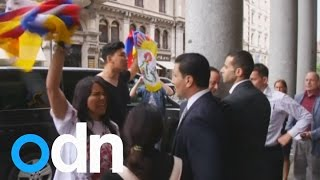 Video Tibetans protest over Beijing Olympic bid in Switzerland download MP3, 3GP, MP4, WEBM, AVI, FLV Agustus 2018