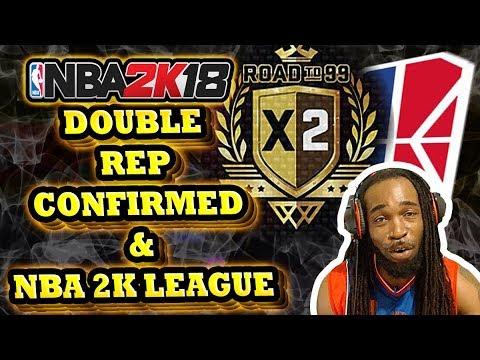Nba 2k19 double rep schedule