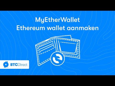 MyEtherWallet.com ethereum wallet aanmaken - BTC Direct