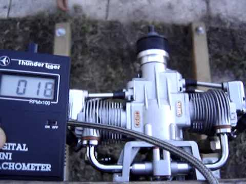 Saito Fg57t Test Bench Youtube