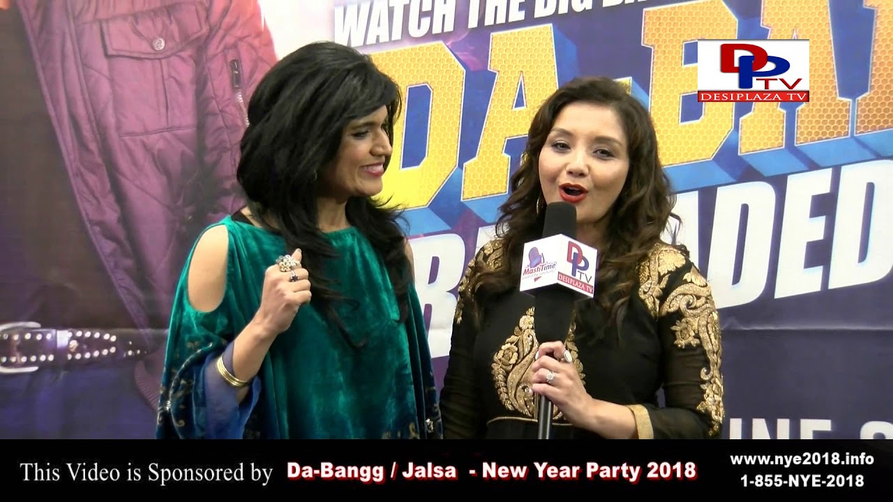 Ruby Bhandari & Monicca Sharma Invite for Da-Bangg/ Jalsa NYE 2018.