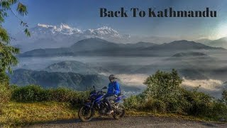 Ride back to kathmandu from pokhara| Pulsar NS 200 |