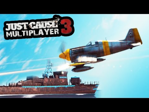 YOU WOULD NOT BELIEVE THIS! (Just Cause 3 Multiplayer INSANE Challenge!)