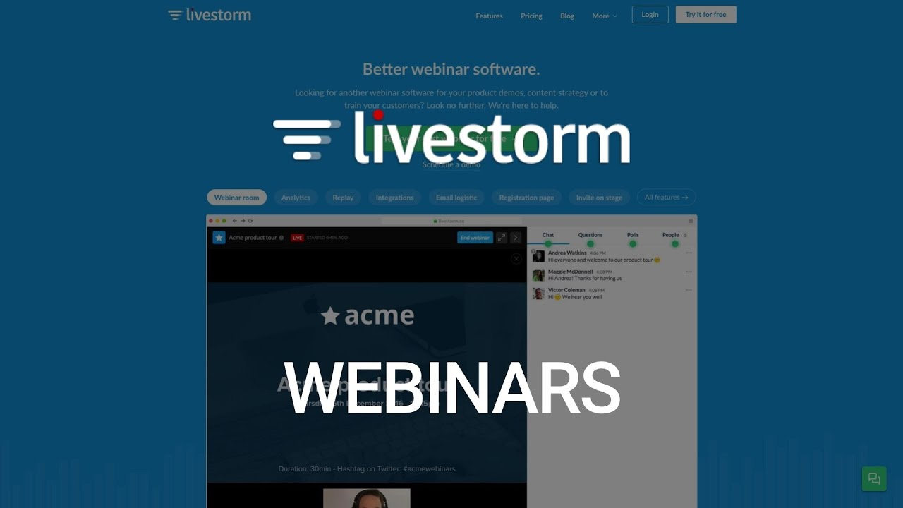 List of 11 Webinar Software Options for Online Web Meetings