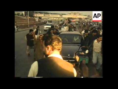 PAKISTAN: BENAZIR BHUTTO MOVES OUT FROM THE PALATIAL HILLTOP RESIDENCE