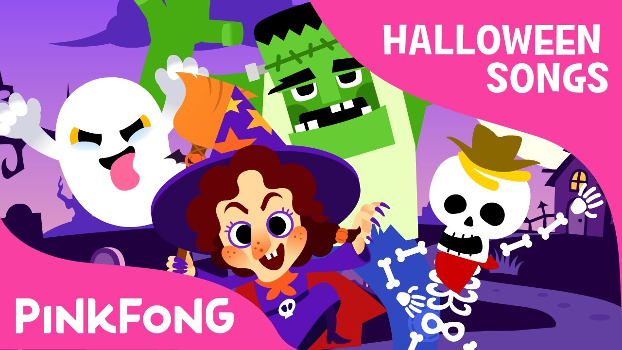 guess who? | halloween songs | pinkfong songs for children - youtube