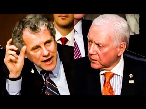 FIGHT: Sherrod Brown and Orrin Hatch THROW DOWN During Senate Hearing Over Taxes