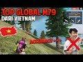 NGERI ASLI !! INI DIA TOP GLOBAL M79 MAINNYA GILAA BANGET - Free Fire Indonesia