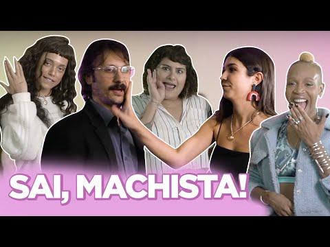 FRASES MACHISTAS QUE VALEM TAPA NA CARA ft Karol Conka Alexandrismos Urias TV Quase  Foquinha