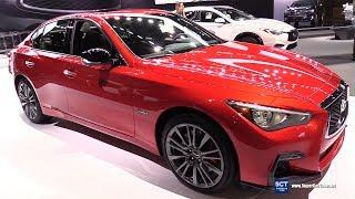 2018 Infiniti Q50S - Exterior and Interior Walkaround - 2018 Chicago Auto Show