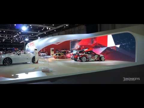 Interactive Installations for Toyota at the Dubai Motor Show