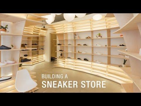 Building a Sneaker Store in Soho