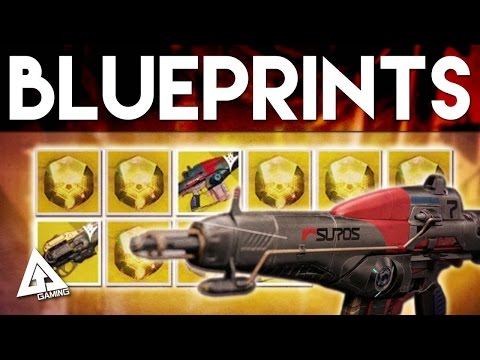 Destiny Exotic Armor & Weapon Blueprints and NEW SUROS Regime Upgrade