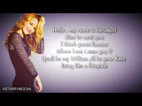 Ready or Not by Bridgit Mendler KARAOKE + LYRICS)