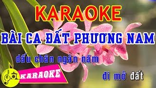 Bài Ca Đất Phương Nam Karaoke || Beat Chuẩn