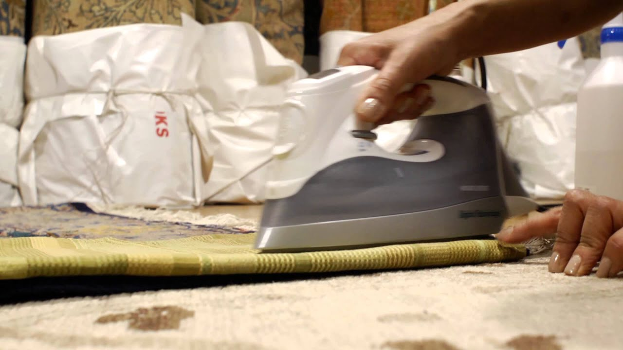 How To Repair Rug Wrinkles Rug Care Youtube