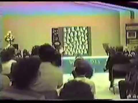 First Methodist Weekday School Program 1986