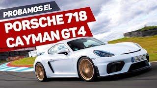 Prueba Porsche 718 Cayman GT4 2019 en circuito / Test a fondo / Review en español