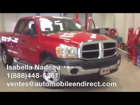 Dodge Ram 2011 usagé à vendre AutomobileEnDirect.com Ile Perrot