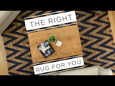 How to Pick a Rug Size