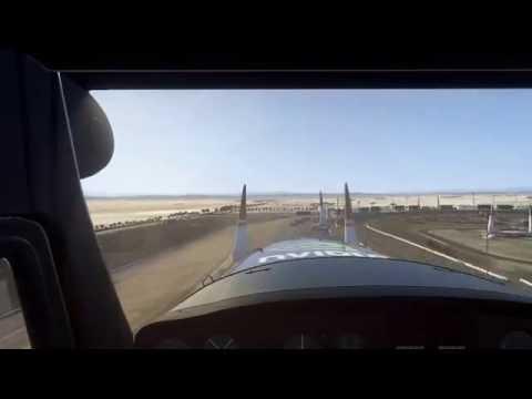Redbull air race the game Première fois sur le circuit de Las Vagas