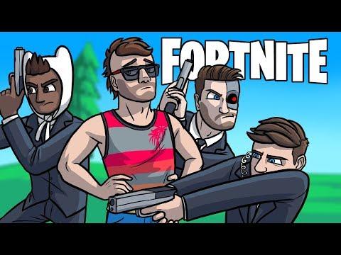 The President of Fortnite! - Fortnite Battle Royale VIP Escort Challenge